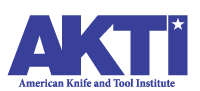 American Knife & Tool Institute (AKTI) Logo - the responsible, credible voice and advocate for the knife community