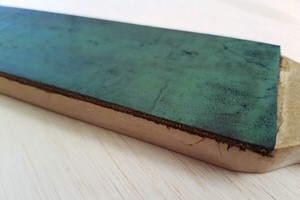 How to make a finishing paddle / strop