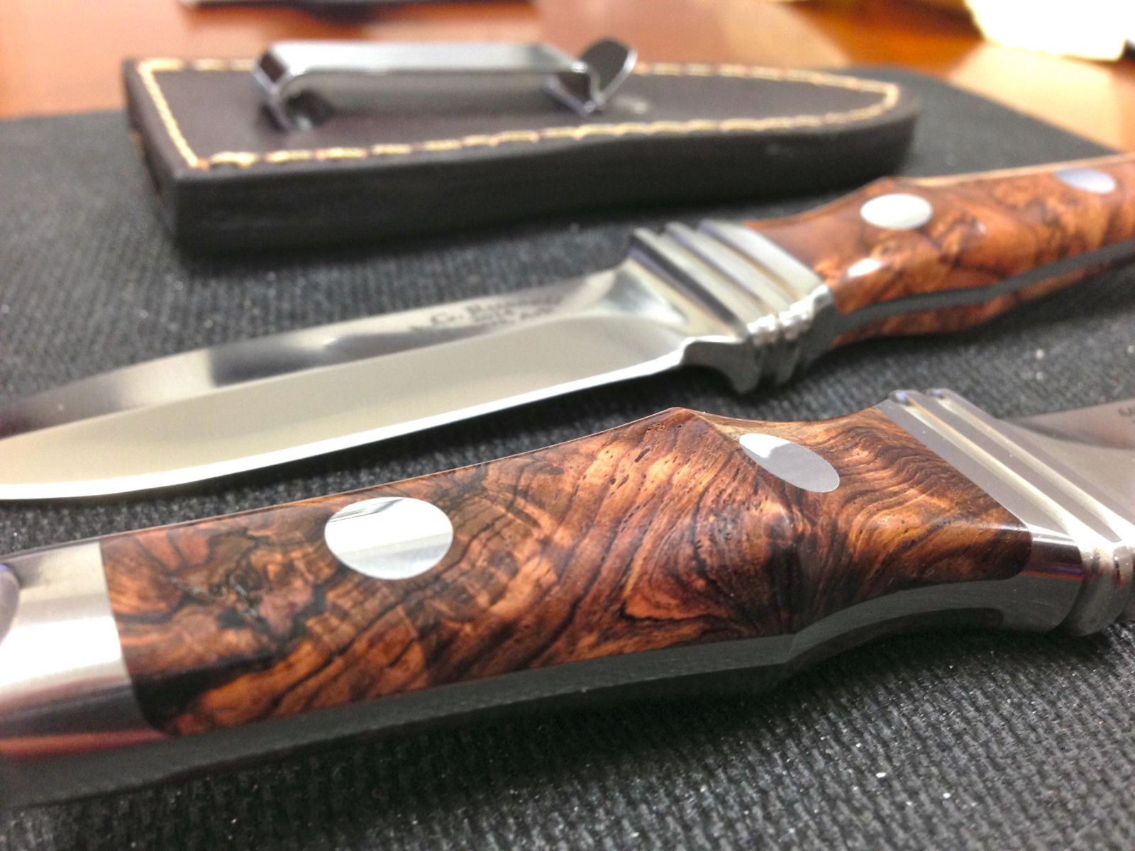 A.G. Russell Sting 3 with Rosewood