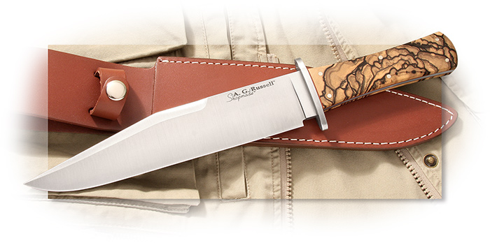 A.G. Russell Shopmade California Bowie Knife