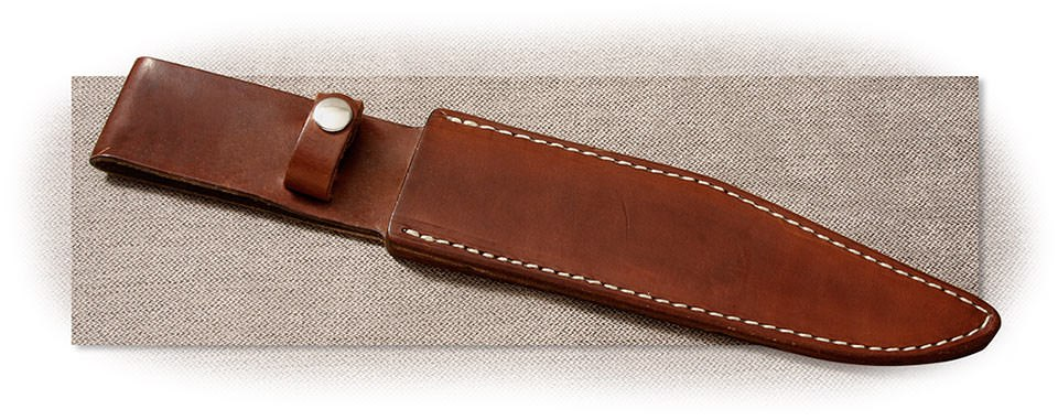 IMPERFECT - LEATHER SHEATH FOR CALIFORNIA BOWIE