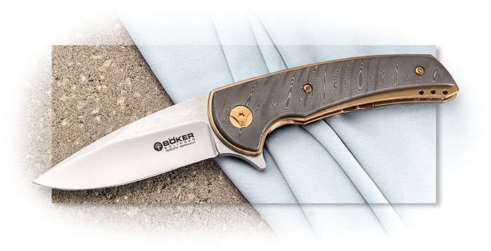 Boker Special Run Model 13 Damascus