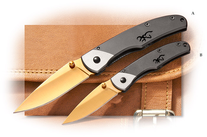 Browning 50th Anniversary Mountain Ti Folders Medium