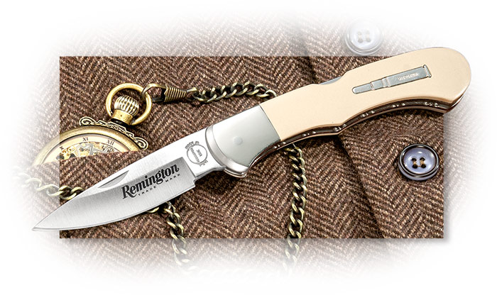 BUCK - REMINGTON MOA BULLET KNIFE - LIMITED TO 500 - Ivory Paper Micarta - Wooden Box