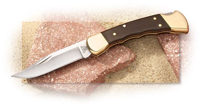 Buck 110 Finger Grooved Hunting Folder