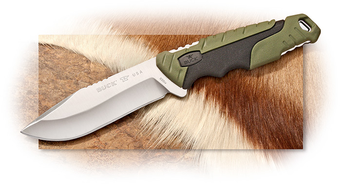 BUCK - LARGE PURSUIT - DROP POINT BLADE - 420HC BLADE STEEL