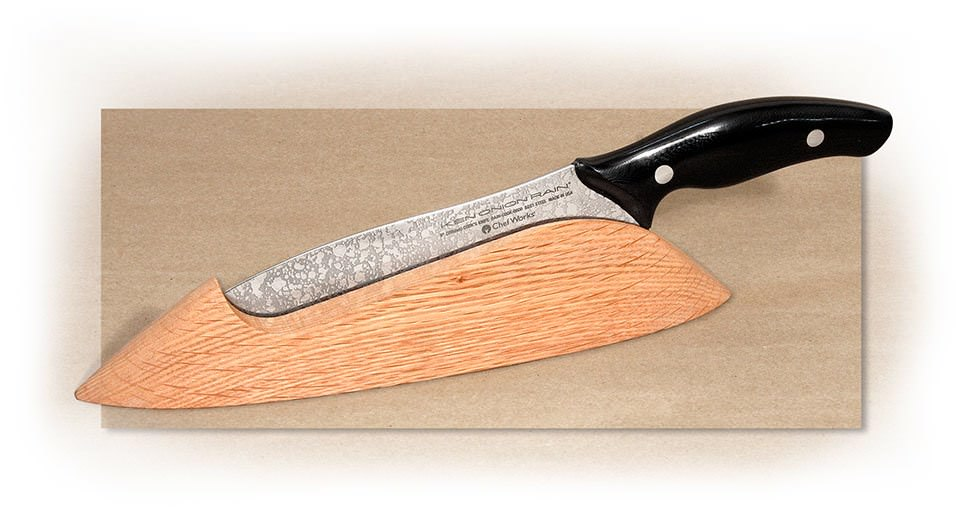 CHEF WORKS - RAIN - KNIFE CRADLE - FOR 6 INCH AND LARGER BLADES