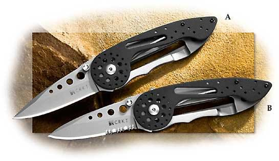 CRKT Van Hoy On Fire Outburst Assisted Opening Plain Edge