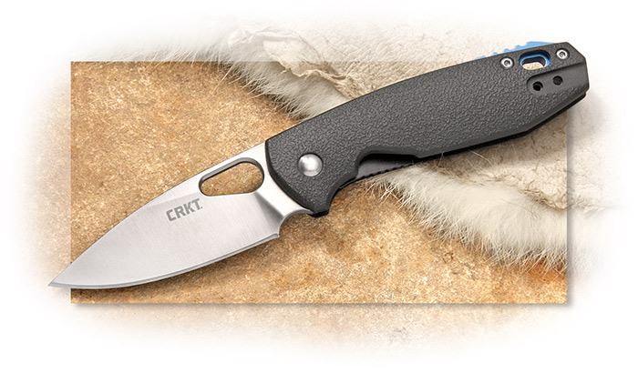 CRKT - PIET - FOLDER WITH LINER LOCK - 8CR13MOV STAINLESS STEEL BLADE - GLASS REINFORCED NYLON