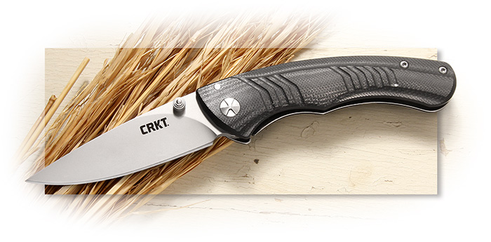 CRKT - FULL THROTTLE - OUTBURST ASSISTED OPENING - 8CR13MOV BLADE - G-10
