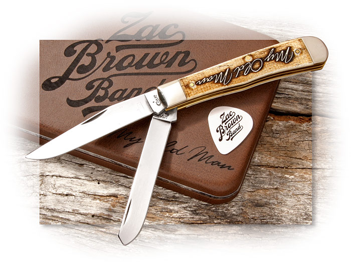 "Case Zac Brown Band ""My Old Man"" Case Trapper Gift Set."