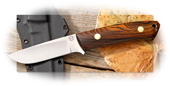 Dozier Buffalo River Hunter - Green Micarta