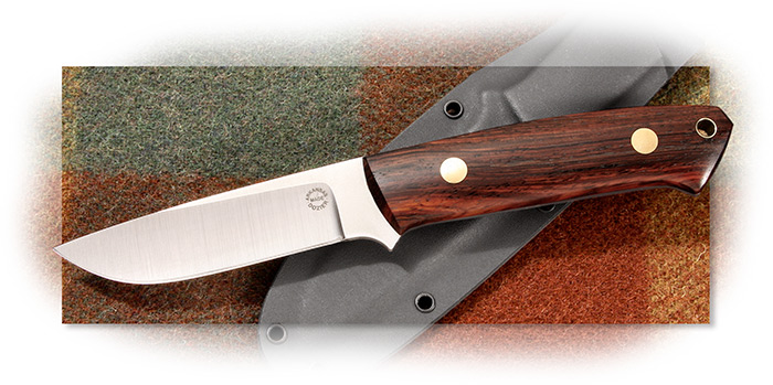 Dozier Buffalo River Hunter Cocobolo Vertical Sheath
