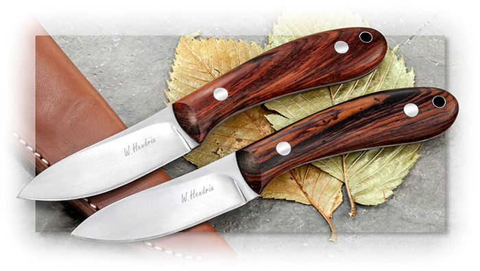 W. Hendrix Shopmade Semi-Skinner with Cocobolo