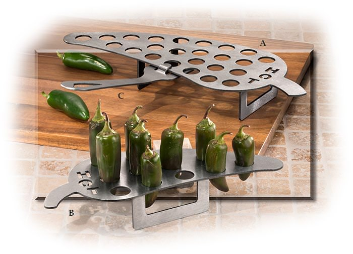 Jalapeno Griller 12 count w/ handle