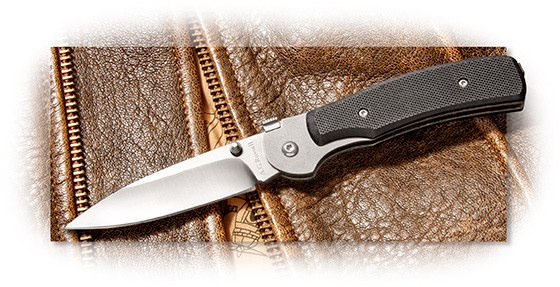 A. G. Russell K12 One Hand Knife G-10