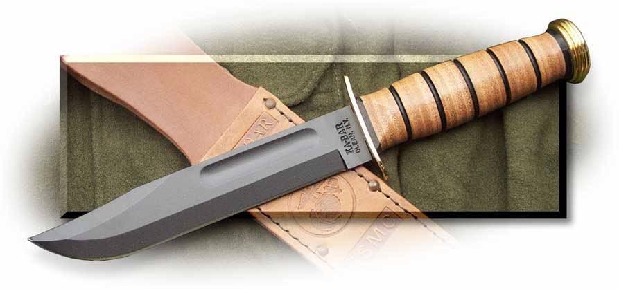 Kabar knife usmc ww2 7 of