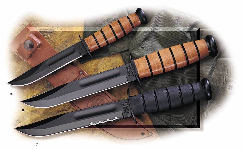 Ka Bar Fighting Utility Knives Agrussell Com