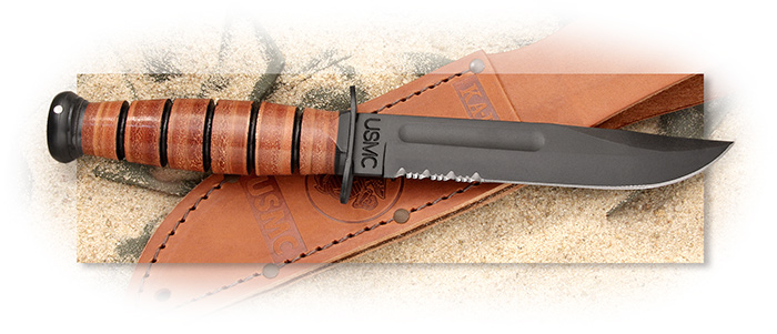 Kabar combat knife marine Ka