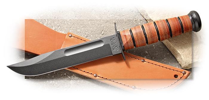 Ka-Bar Single Mark Fighting Knife