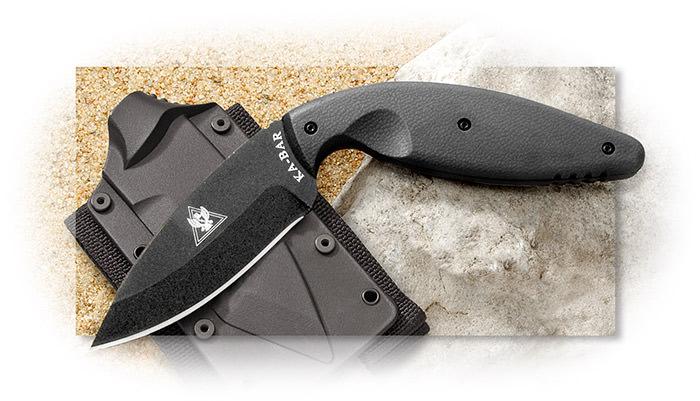 Ka Bar Tdi Law Enforcement Knife Plain Edge