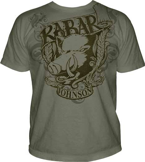 KABAR - JOHNSON ADVENTURE BLADES T-SHIRT - MEDIUM