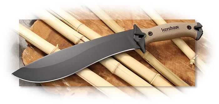 Kershaw Camp 10 Knife Tan