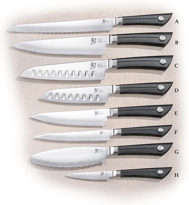 Shun Sora Kitchen Knives | AGRussell.com