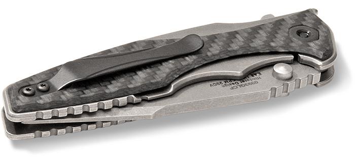 Zero Tolerance Model 0393 with Glow in the Dark Carbon Fiber