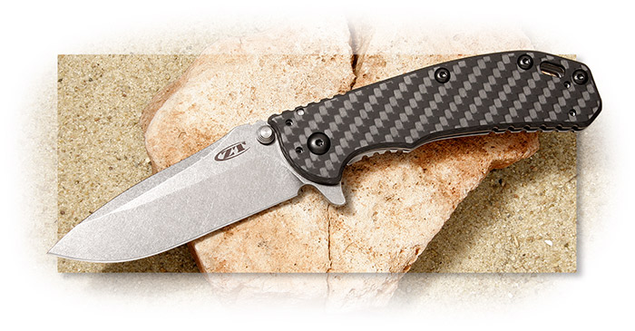 Zero Tolerance ZT 0566 Carbon Fiber Assisted Opening Flipper