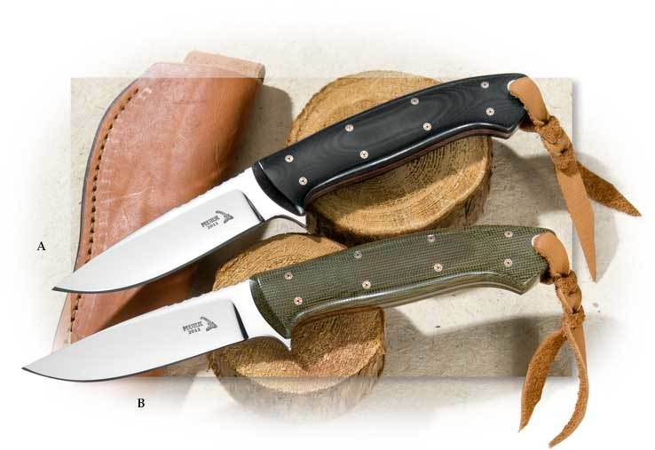 Keith Murr Model 88 Black Micarta