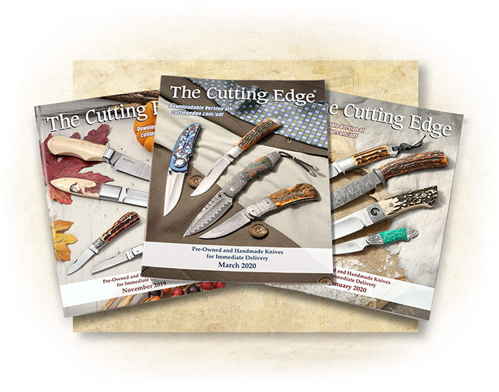 Cuttingedge Knife List Printed Book Subscription 1 Year
