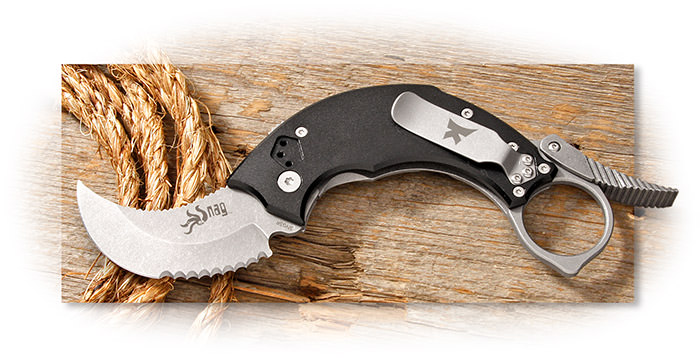 Krudo SNAG 2.1 Tactical Folder, Aluminum Handles