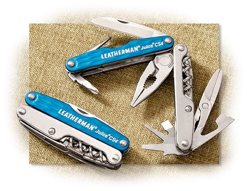 Leatherman Juice CS4 Glacier