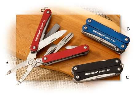 Leatherman Squirt ES4 Keyring Tool Red