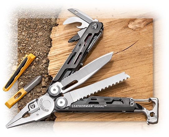Leatherman Signal Multi-Tool Outdoor Survivalist tool
