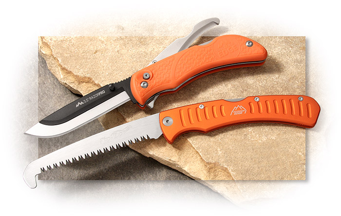 Outdoor Edge Razorpro Saw Combo Set