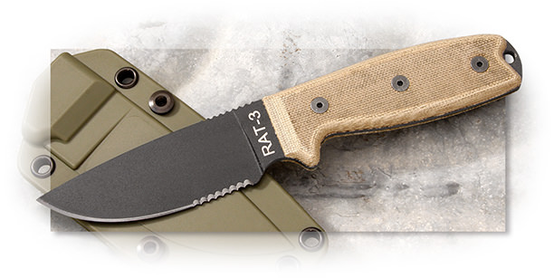 Ontario RAT-3 - Serrated
