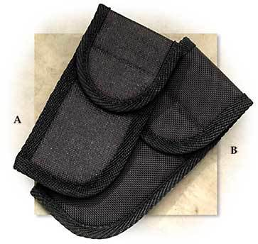 "5"" Black Cordura Belt Pouch When Ordered with Another Item"