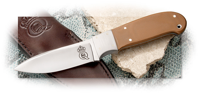 Queen Cutlery Coyote Brown Hunter
