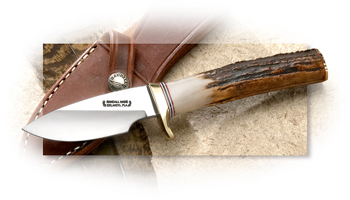 Randall Model 11 Alaskan Skinner with Stag Handle