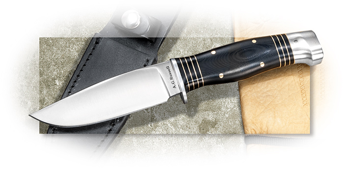 A.G. Russell Classic American Style Hunter with Black G-10