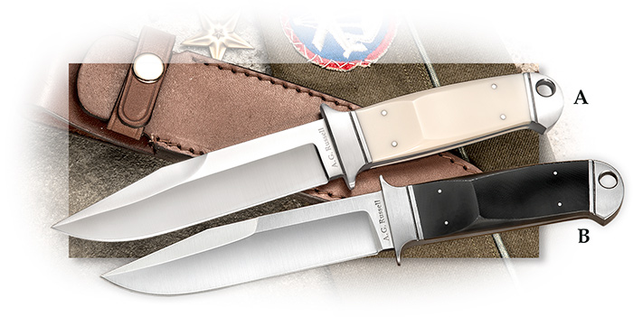 A. G. Russell Drop Forged Chute Knife