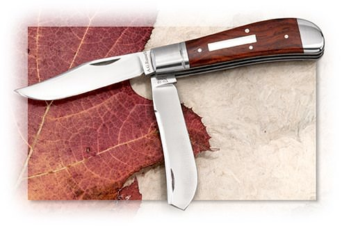 A.G. Russell™ Dogleg Trapper Cocobolo