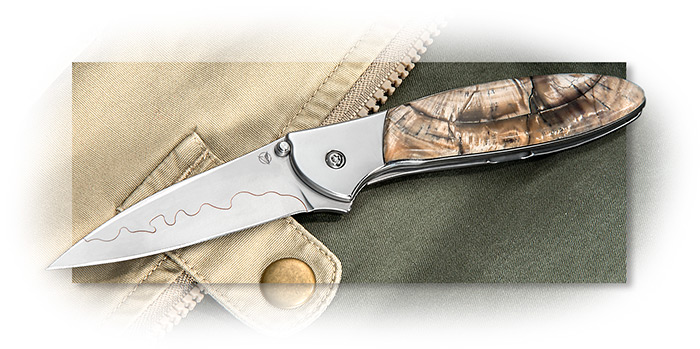 Kershaw Leek with Mammoth Ivory