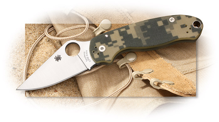 Para 3 , Para Military, digital camouflage-patterned textured G-10 scales, digi camo g-10 scales,
