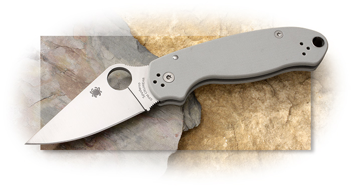 Spyderco Sprint Run Para3 G-10 Cru-Wear