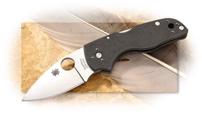 Spyderco Lil' Native G-10 Handle