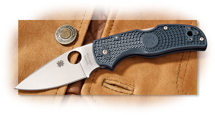 Spyderco Native 5 Dark Blue FRN