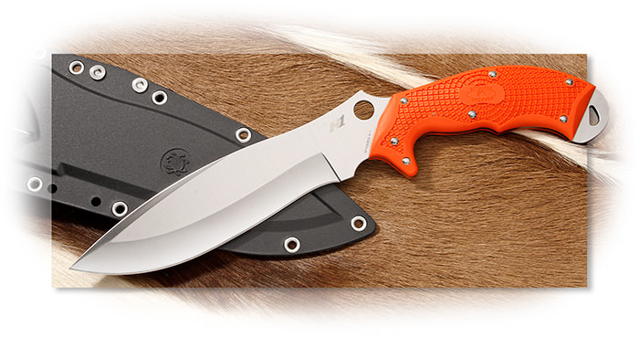 Spyderco Rock Salt Orange